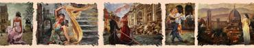 Скинали - Девушки и танец в Италии и Франции на картинах Марка Литтла