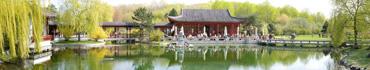 Скинали - Пагода на воде, панорама