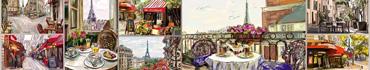 Скинали - Завтрак в Париже, иллюстрации