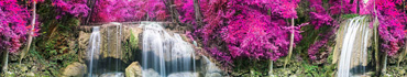 Скинали - Водопады в красочном лесу, Таиланд