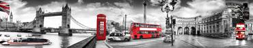 Скинали - Лондон со своими знаменитыми красными акцентами