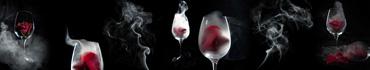 Скинали - Белый дым от красных роз в бокалах