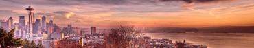 Скинали - Сиэтл на закате солнца