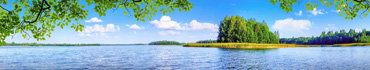 Скинали - Солнечный день на озере