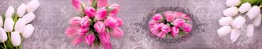 Скинали - Букеты тюльпанов