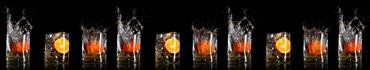 Скинали - Брызги стаканов с цитрусовыми