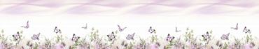 Скинали - Нежные цветы и бабочки