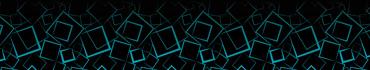 Скинали - Голубые квадраты на черном фоне