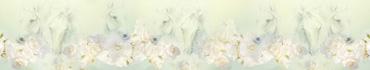 Скинали - Белые розы, украшающие лошадей