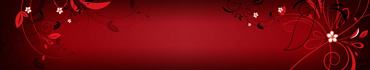 Скинали - Цветочная абстракция, красный фон