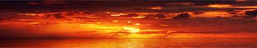 Скинали - Оранжево-огненный закат