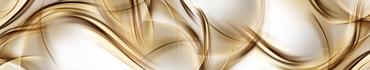 Скинали - Мягкие коричневые линии на светлом фоне