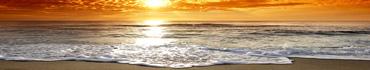 Скинали - Закат на пляже Корсики