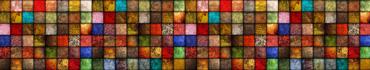 Скинали - Плитка-мозаика с яркими элементами