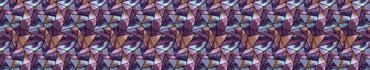 Скинали - Акварельная геометрическая мозаика-паттерн