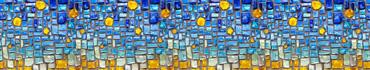 Скинали - Яркие стеклышки в стене