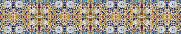 Скинали - Декоративная мозаика из разноцветных стекол