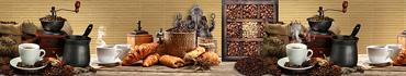 Скинали - Кофе, свежие круассаны на столе