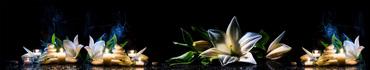 Скинали - Спа камушки и свечи у белых линий