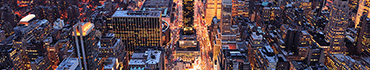 Скинали - Нью-Йорк - городской пейзаж