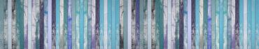 Скинали - Имитация разноцветных винтажных досок