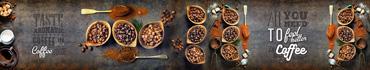 Скинали - Ароматные зерна кофе с надписями