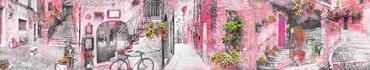 Скинали - Старые улочки Италии в розовом цвете