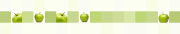 Скинали - Зеленые яблочки на фоне в квадраты