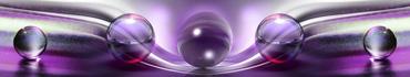 Скинали - Пурпурно-фиолетовые волны и стеклянные шары