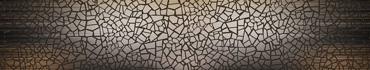 Скинали - Изображение-абстракция с эффектом мозаики стеклом