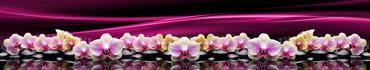 Скинали - Светлые орхидеи на камушках