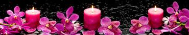 Скинали - Пурпурная орхидея и романтические свечи