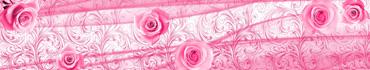 Скинали - Нежно-розовый фон-абстракция с розами