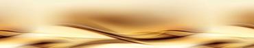 Скинали - Мягкая волна в бежево-коричневом