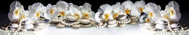 Скинали - Жемчуг у камней спа и белой орхидеи