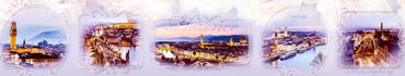 Скинали - Светлый фон с фотографиями предрассветных городов
