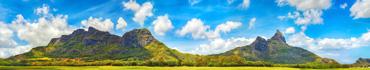 Скинали - Горная панорама с острова Маврикий