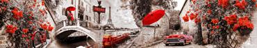 Скинали - Ретро коллаж о романтичной Франции в деталях красного