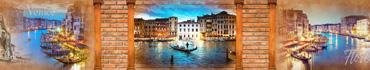 Скинали - Виды на вечернюю Венецию и скульптуры Флоренции