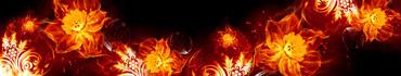 Скинали - Цветы и узоры в огне