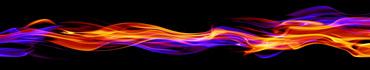 Скинали - Абстракция-пламя на черном фоне