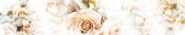 Скинали - Рисунок нежной розы на светлом фоне