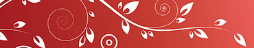 Скинали - Красно белые цветочки