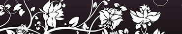 Скинали - Черно - белые цветочки