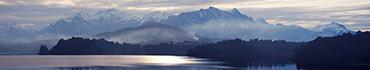 Скинали - Гималаи и темное небо после заката