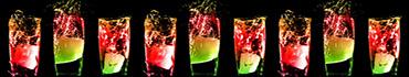 Скинали - Красивые коктейли с подсветкой