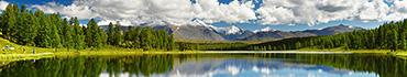 Скинали - Большое озеро в горах