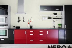 Красные кухни -2