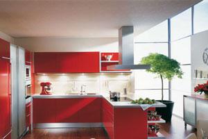 Красные кухни -3