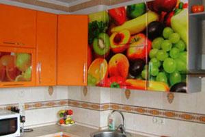 Кухня с фотопечатью - 2